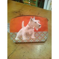 Pochette con le figure dei West Highlands Terrier