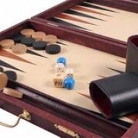 Backgammon in legno
