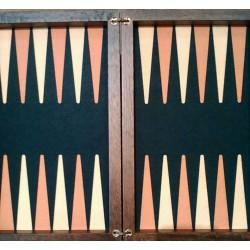 Backgammon in legno di noce made in Italy