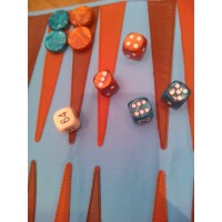 Backgammon arrotolabile