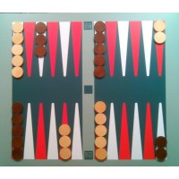 Backgammon didattico magnetico