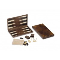 Backgammon in noce