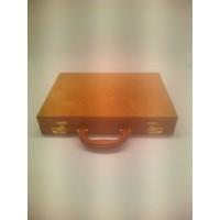 Backgammon in legno e pelle esemplare unico