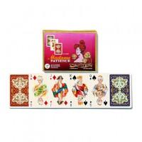 Carte da gioco due mazzi per i solitari