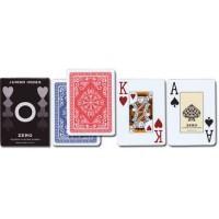 """Carte in plastica da poker professionali marca esclusiva """"Zero"""""""