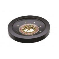 Roulette  laccata nera cm. 36