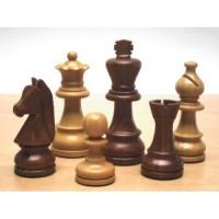Selezione top scacchi piombati in legno da torneo h. RE 93 mm