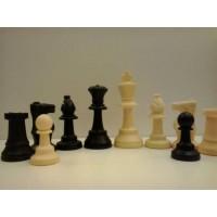 Scacchi da torneo regolamentari in plastica modello Staunton