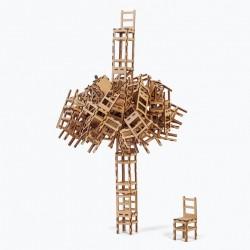 """Gioco creativo di equilibrio, strategia e immaginazione  """"Le Sedie"""""""